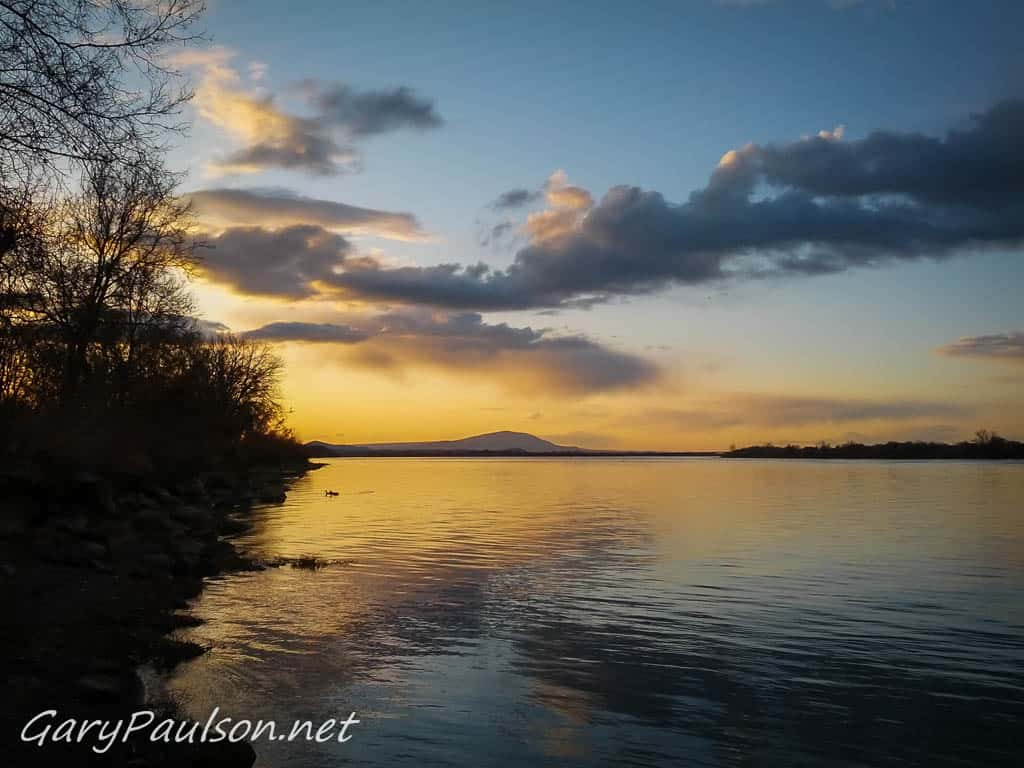 Columbia River Sunset - Columbia Park - Richland WA