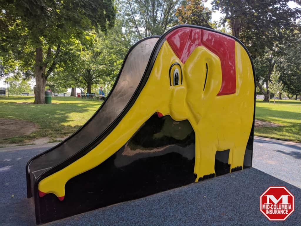 Elephant Slide - Howard Amon Park