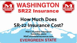 Washington SR22 Cost
