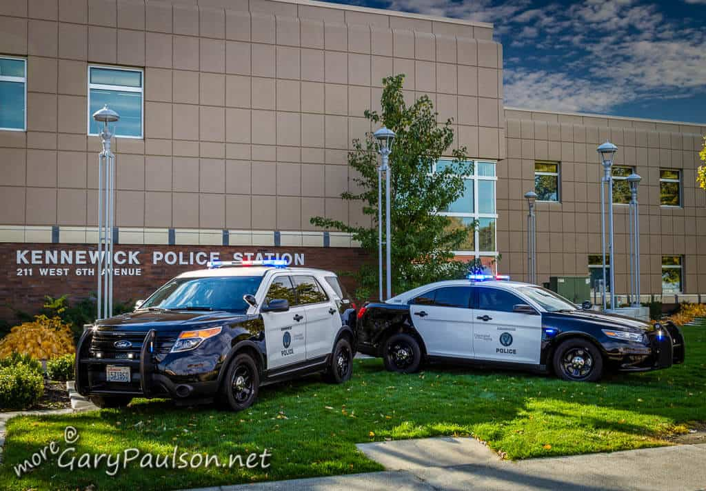 Kennewick WA Police Department - Law Enforcement Vehicles - Gary Paulson