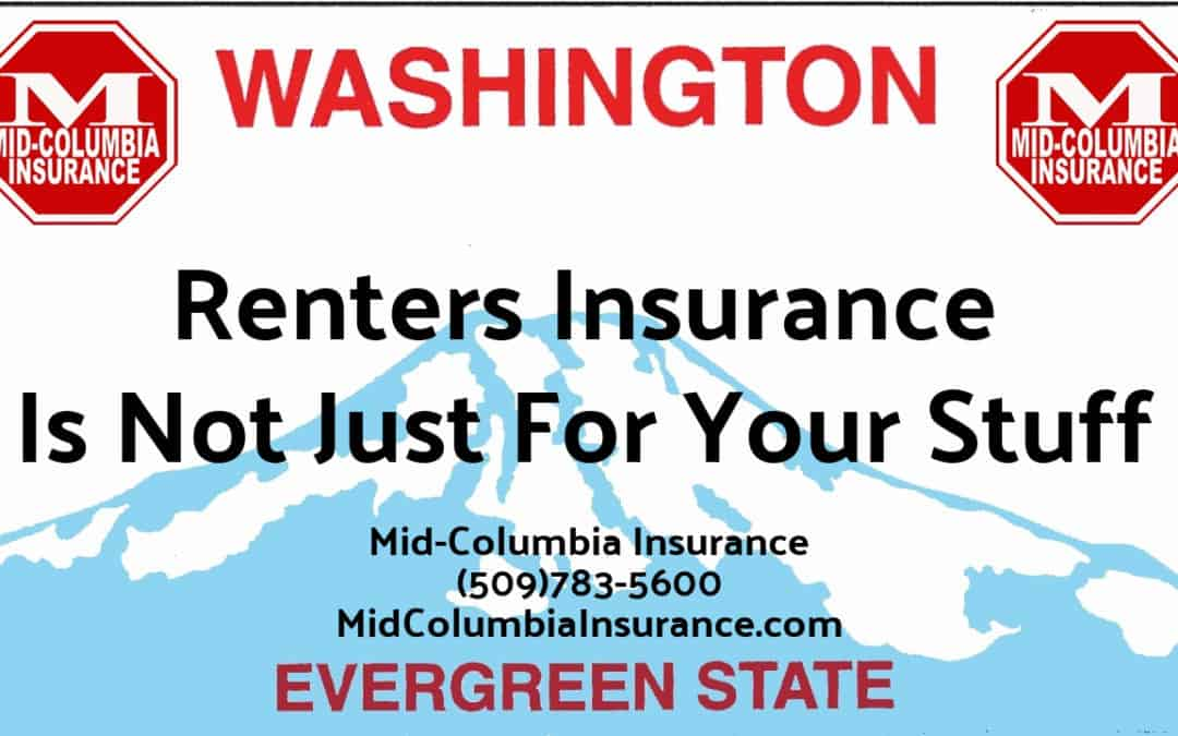 """Renters Insurance Is Not Just For Your """"Stuff"""""""
