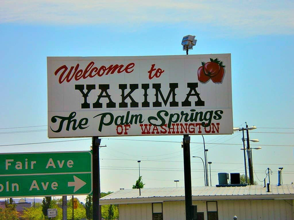 Palm Springs of Washington Sign