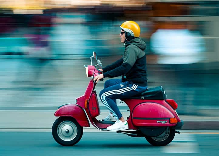 motorbike, moped, trike, scooter, and ATV insurance in Menlo